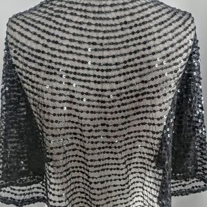 Kenneth Cole Accessories - Kenneth Cole Sequin Capelet